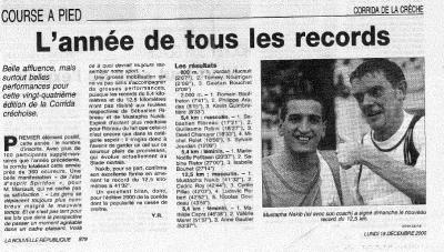 Annee de tous les records 2000