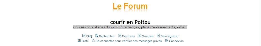 Courir en Poitou