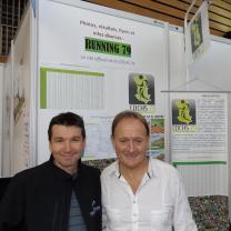 Nicolas GOUDEAU (10km de St Maxire) à gauche (veste noir) et Jean-François REGNIER à droite (chemise blanche). JF REGNIER, seul Deux-sévriens à avoir boucler les 25 édition.