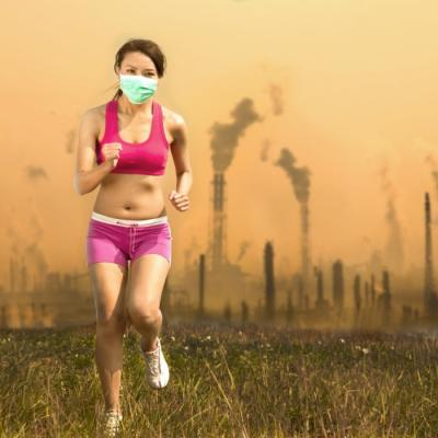 Pollution running